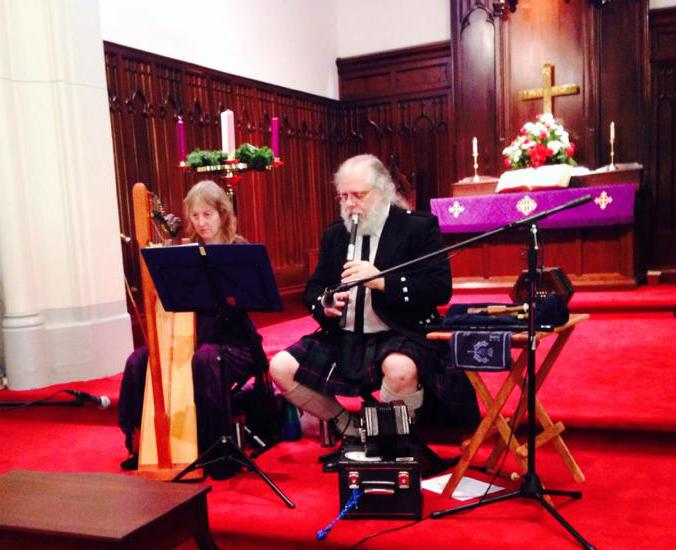 Celtic Christmas service in Westminster, MD